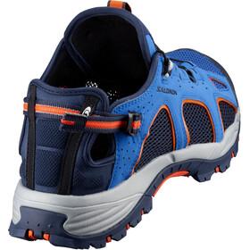 Salomon M's Techamphibian 3 Shoes nautical blue/navy blazer/flame